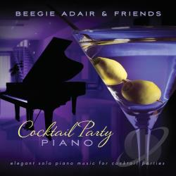 Cocktail Party Piano CD Cover Art