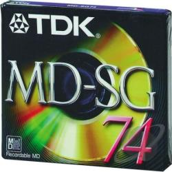 Md-Xg74l - Single Mini Disc Cover Art