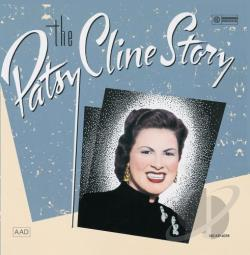 Cline, Patsy - Patsy Cline Story CD Cover Art
