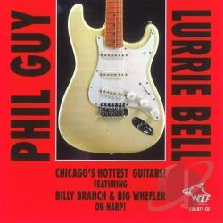 Guy, Phil - Chicago's Hottest Guitars: Chicago Blues Session, Vol. 25 CD Cover Art