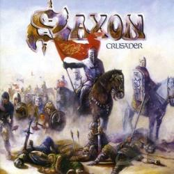 Saxon - Crusader CD Cover Art