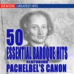 50 Essential Pachelbel Canon and Other Baroque Hits DB Cover Art