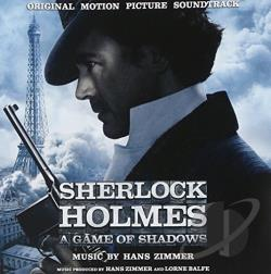 Zimmer, Hans - Sherlock Holmes: A Game of Shadows CD Cover Art