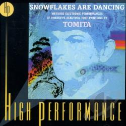 Tomita / Tomita, Isao - Snowflakes Are Dancing: Electronic Performances of Debussy's Tone Paintings CD Cover Art