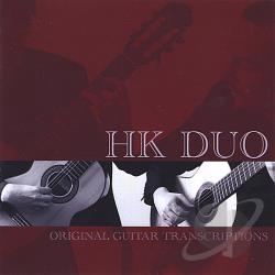Henderson-Kolk Duo - Original Guitar Transcriptions CD Cover Art