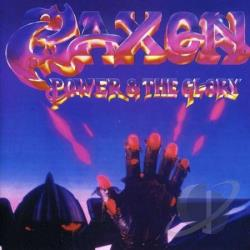 Saxon - Power & The Glory CD Cover Art