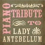 Piano Tribute to Lady Antebellum CD Cover Art
