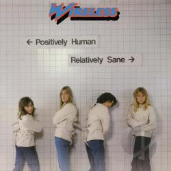 Wireless - Positively Human, Relatively Sane CD Cover Art