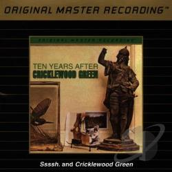 Ten Years After - Ssssh./Cricklewood Green CD Cover Art