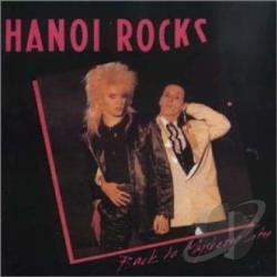 Hanoi Rocks - Back To Mystery City CD Cover Art
