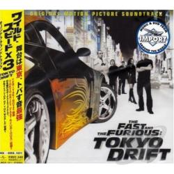 Fast & The Furious: Tokyo Drift CD Cover Art