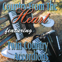 Twin Accordionist - Country From The Heart CD Cover Art