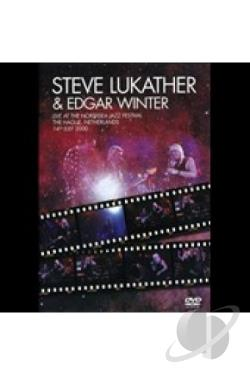 Lukather, Steve / Winter, Edgar - Live At The North Sea Jazz Festival DVD Cover Art