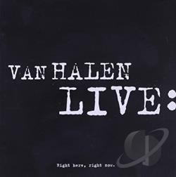 Van Halen - Live: Right Here, Right Now CD Cover Art