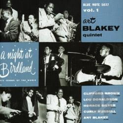Blakey, Art - Night at Birdland, Vol. 1 CD Cover Art