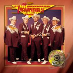 Los Incomparables De Tijuana - Linea Dorada CD Cover Art