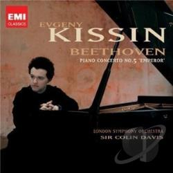 Beethoven / Kissin, Evgeny - Beethoven: Piano Concerto No. 5 CD Cover Art