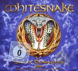 Whitesnake - Live at Donington 1990 CD Cover Art