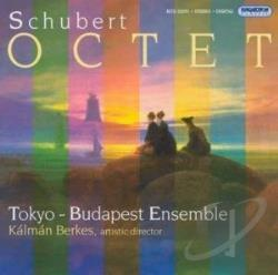 Berkes, Kalman / Schubert - Octet CD Cover Art