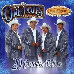 Los Originales De San Juan - 20 Grandes Exitos CD Cover Art