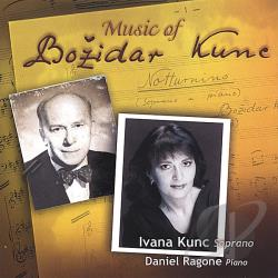 Kunc, Ivana - Music of Bozidar Kunc CD Cover Art