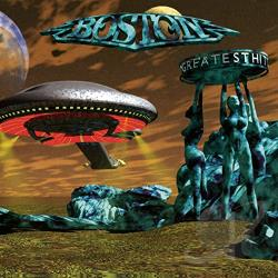 Boston - Greatest Hits CD Cover Art