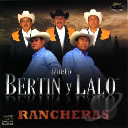 Lalo, Bertin Y - Rancheras CD Cover Art