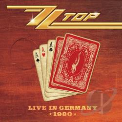 ZZ Top - Live in Germany 1980 CD Cover Art
