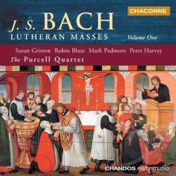 Bach, Johann Sebastian / Blaze / Gritton / Harvey - Bach: Lutheran Masses, Vol. 1 CD Cover Art