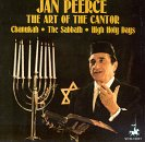 Peerce, Jan - Art Of The Cantor: Chanukah - The Sabbath - High Holy Days. CD Cover Art