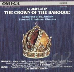 17 Jewels in The Crown of the Baroque / Camerata St. Andrew CD Cover Art