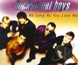 Backstreet Boys - As Long As You Love Me Pt. 1 CD Cover Art