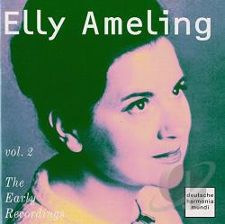 Ameling, Elly - Elly Ameling - The Early Recordings Vol 2 CD Cover Art