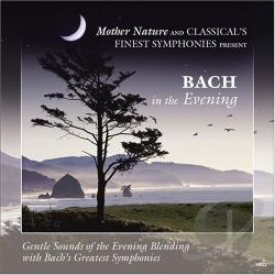 Bach in the Evening CD Cover Art
