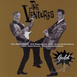 Ventures - Gold CD Cover Art