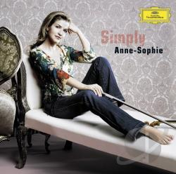 Mutter, Anne-Sophie - Simply Anne-Sophie CD Cover Art