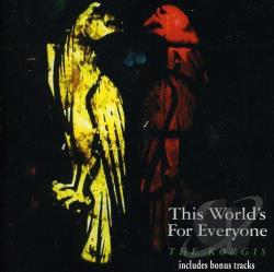 Korgis - This World's for Everyone CD Cover Art