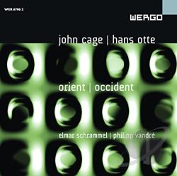Cage / Schrammel / Vandre - Orient Occident CD Cover Art