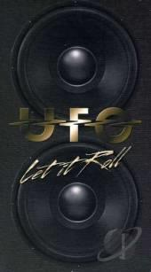 U.F.O. - Let It Roll CD Cover Art