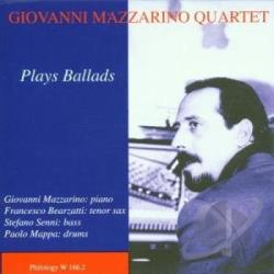 Mazzarino, Giovanni - Plays Ballads CD Cover Art