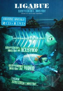 Ligabue - Arrivederci, Mostro! CD Cover Art