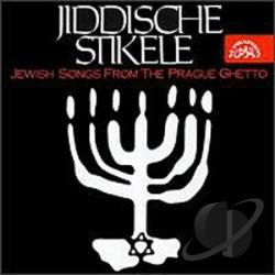 Jiddische Stikele - Jewish Songs from the Prague Ghetto CD Cover Art