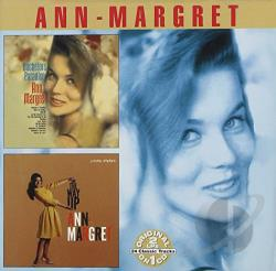 Ann-Margret - Bachelors' Paradise/On the Way Up CD Cover Art
