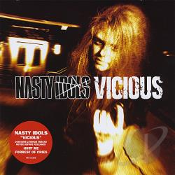 Nasty Idols - Vicious CD Cover Art