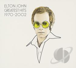 John, Elton - Greatest Hits 1970-2002 CD Cover Art