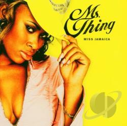 Ms. Thing - Miss Jamaica CD Cover Art