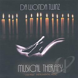 Da Wonda Twinz - Musical Therapy CD Cover Art