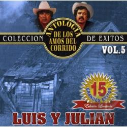 Luis Y Julian - Coleccion De Exitos Vol 5 CD Cover Art