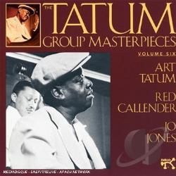 Tatum, Art - Tatum Group Masterpieces, Vol. 6 CD Cover Art