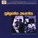 Gigolo Aunts - Minor Chords & Major Themes CD Cover Art